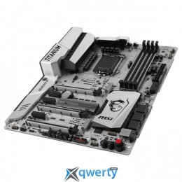 MSI Z270 MPower Gaming Titanium (Socket 1151,	Intel Z270, PCI-Ex16)