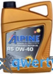 Alpine 0W-40 RS 4л