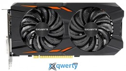 GIGABYTE PCI-ex GeForce GTX 1050 Ti Windforce 4G (128bit) GDDR5 (GV-N105TWF2-4GD)