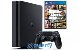Sony Playstation 4 Slim 500gb + Игра GTA 5