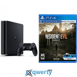 Sony Playstation 4 Slim 500gb + Игра Resident Evil 7 Biohazard