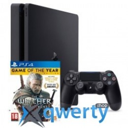 Sony Playstation 4 Slim 500gb + Игра The Witcher 3 GOTY Edition