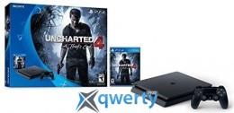 Sony Playstation 4 Slim 500gb + Игра Uncharted 4 купить в Одессе