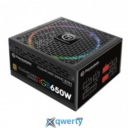 Thermaltake Toughpower Grand RGB 650W Gold Fully Modular (PS-TPG-0650FPCGEU-R)