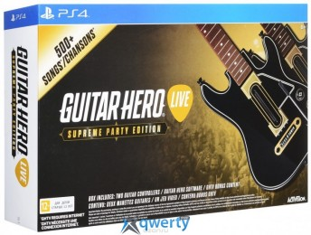 Guitar Hero Live Supreme Party Edition (набор с двумя гитарами)