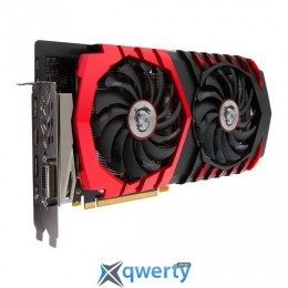 MSI PCI-Ex GeForce GTX 1060 Gaming X+ 6GB GDDR5 (192bit) (1569/9026) (DVI, HDMI, 3 x DisplayPort) (GTX 1060 GAMING X+ 6G)