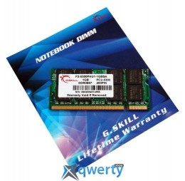 G.Skill SODIMM DDR2-667 1024MB PC2-5300 (F2-5300PHU1-1GBSA)