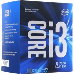 Intel Core i3-7300 4.0GHz/8GT/s/4MB (BX80677I37300) s1151 BOX