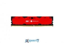 GOODRAM Iridium Red DDR4 4GB 2400MHz (IR-R2400D464L15S/4G)