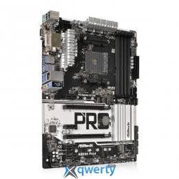 ASRock AB350 Pro4 (sAM4, AMD B350, PCI-Ex16) купить в Одессе