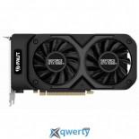 PALIT GEFORCE GTX1050 TI 4GB DUAL GDDR5 PCI-ex(128bit) (1290/7000) (HDMI, DisplayPort, DVI) (NE5105T018G1-1071D)