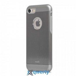 Moshi iGlaze Armour Metallic Case Gun Metal Gray for iPhone 7 (99MO088021)