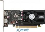 MSI PCI-Ex GeForce GT 1030 Low Profile OC 2GB GDDR5 (64bit) (1265/6008) (HDMI, DisplayPort) (GT 1030 2G LP OC)