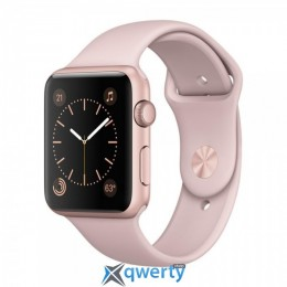 Apple Watch Series 1 MNNN2 42mm Gold Aluminum Case with Cocoa Sport Band купить в Одессе