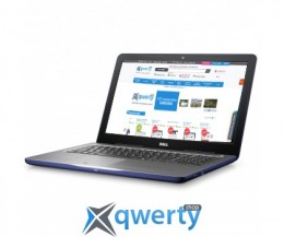 Dell Inspiron 5567(0537V)8GB/120SSD/Win10/Blue