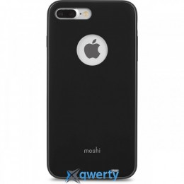 Moshi iGlaze Slim Lightweight Snap-On Case Metro Black for iPhone 7 Plus (99MO090002)