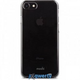 Moshi XT Thin Transparent Snap-On Case Black for iPhone 7 Plus (99MO090061)