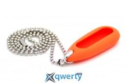 Кулон для Mi Band Orange + ожерелье stainless