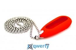 Кулон для Mi Band red + ожерелье stainless