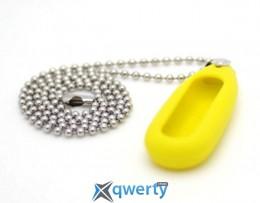 Кулон для Mi Band Yellow + ожерелье stainless