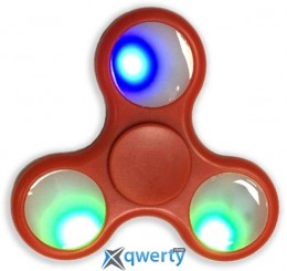 Spinner Led Red