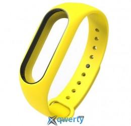 Ремешок для браслета Xiaomi Mi Band 2 Yellow