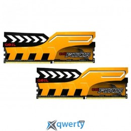GEIL EVO Forza Racing Yellow DDR4 3200MHz 16GB Kit 2x8GB PC4-25600 (GFY416GB3200C16ADC)