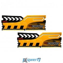 GEIL EVO Forza Racing Yellow DDR4 3200MHz 16GB Kit 2x8GB PC4-25600 (GFY416GB3200C16ADC)