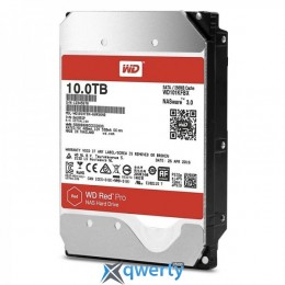 WESTERN DIGITAL HDD SATA 10.0TB Red Pro NAS 7200rpm 256MB (WD101KFBX)