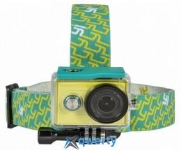 Крепление на голову для камеры YI Sport Green