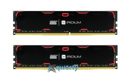 Goodram DDR4-2400 16384MB PC4-19200 (Kit of 2x8192) IRDM Black (IR-2400D464L15S/16GDC)