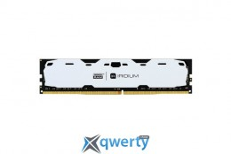 Goodram DDR4-2400 8192MB PC4-19200 IRDM White (IR-W2400D464L15S/8G)