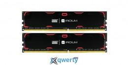 Goodram DDR4-2400 8192MB PC4-19200 (Kit of 2x4096) IRDM Black (IR-2400D464L15S/8GDC)