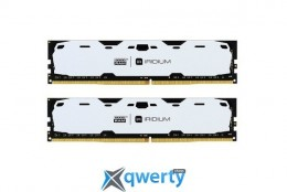 Goodram DDR4-2400 8192MB PC4-19200 (Kit of 2x4096) IRDM White (IR-W2400D464L15S/8GDC)