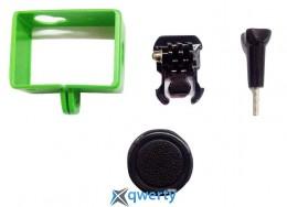 Набор для Xiaomi Yi Sport Green Чехол рамка + Объектив 37мм