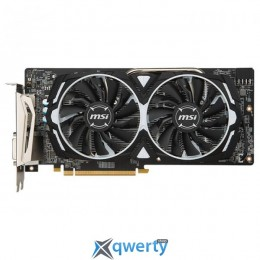 MSI PCI-Ex Radeon RX 580 ARMOR 4G GDDR5 (256bit) (1340/7000) (DVI, 2 x HDMI, 2 x DisplayPort) (RX 580 ARMOR 4G)