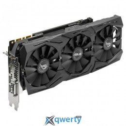 Asus PCI-Ex GeForce GTX 1080 ROG Strix Advanced Edition 8GB GDDR5X (256bit) (1657/11010) (DVI, 2 x HDMI, 2 x DisplayPort) (ROG-STRIX-GTX1080-A8G-11GBPS)