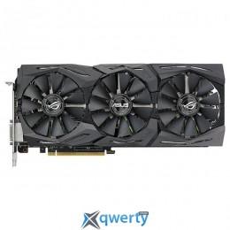 Asus PCI-Ex GeForce GTX 1080 ROG Strix OC 8GB GDDR5X (256bit) (1695/11010) (DVI, 2 x HDMI, 2 x DisplayPort) (ROG-STRIX-GTX1080-O8G-11GBPS)