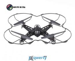 Квадрокоптер MJX X301H 310мм HD 720p WiFi камера черный