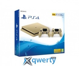 Sony Playstation 4 Slim 500gb Gold + Джойстик V2 Gold