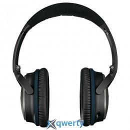 BOSE QUIETCOMFORT 25 WIRELESS HEADPHONES BLACK FOR APPLE (WWW 715053-0010)