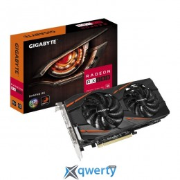 Gigabyte PCI-Ex Radeon RX 580 Gaming 8GB GDDR5 (256bit) (1340/8000) (DVI, HDMI, 3 x Display Port) (GV-RX580GAMING-8GD)