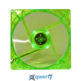 120mm Cooling Baby 12025 4PS Green P-LED