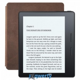 Amazon Kindle Oasis with Leather Charging Cover Brown