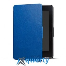 Amazon Kindle Voyage Leather Cover Blue