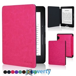 Amazon Kindle Voyage Leather Cover Pink