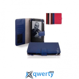 CaseCrown Amazon Kindle 3 Case Blue/Red