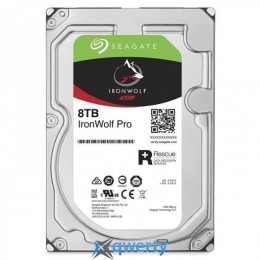 HDD SATA 8.0TB Seagate IronWolf Pro NAS 7200rpm 256MB (ST8000NE0004)