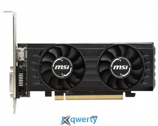 MSI PCI-Ex Radeon RX 550  2GB GDDR5 Low Profile OC (128bit) (1203/7000) (DVI, HDMI) (RX 550 2GT LP OC)