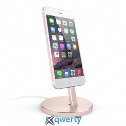 Satechi Aluminum Desktop Charging Stand Space Rose Gold (ST-AIPDR) купить в Одессе